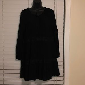 Zara lack lace babydoll dress L